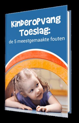 Toddlers Huis Kinderopvangtoeslag ebook cover